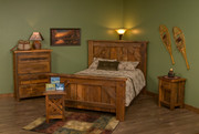 Diamond Lake Amish Made Bedroom Set