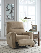 Ashley McTeer Mocha Power Recliner