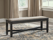 Ashley Tyler Creek Black/Gray Upholstered Bench