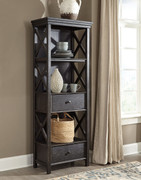 Ashley Tyler Creek Black/Gray Display Cabinet