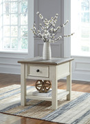 Ashley Bolanburg Two-tone Rectangular End Table