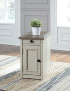 Ashley Bolanburg Two-tone Chair Side End Table