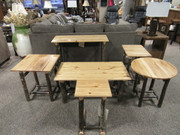 Amish Solid Hickory promo occasional tables