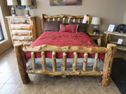 Amish Solid Aspen Bedroom Set