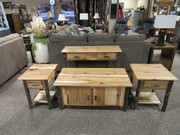 Amish Brunte Hickory Occasional Group