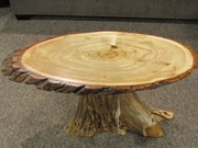 Amish Stump Occasional Tables
