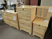 Best Craft Furniture Inc. Back Woods Solid Pine Bedroom Group