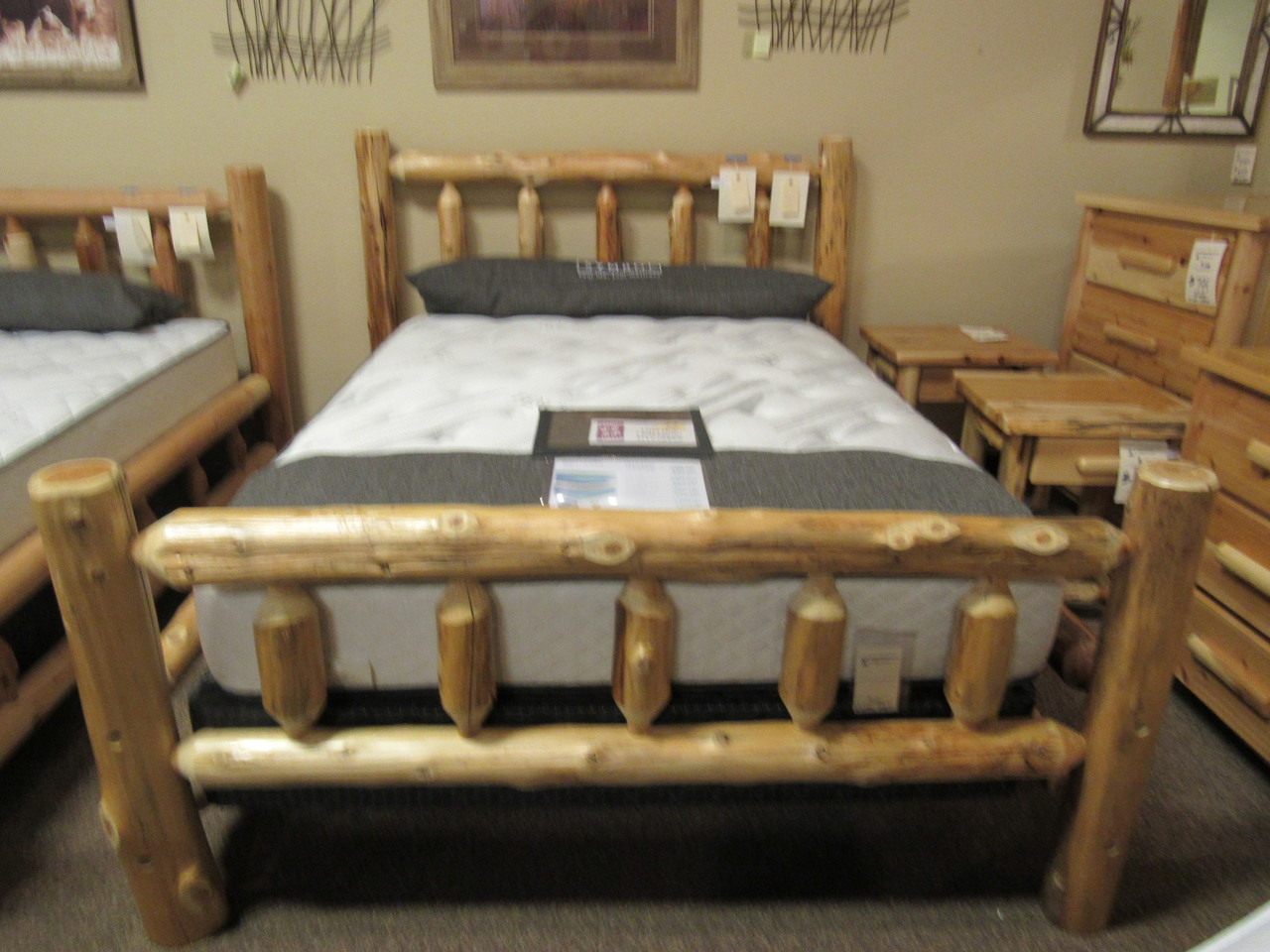 Best Craft Furniture Inc Rustic Cedar Bedroom Set On Sale