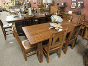 Amish Barnwood Dining Set