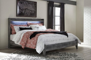 Ashley Baystorm Gray King Panel Bed