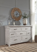 Ashley Brashland White Dresser