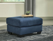 Ashley Darcy Blue Ottoman