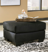 Ashley Darcy Black Ottoman