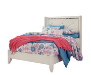 Ashley Dreamur Champagne Full Panel Bed