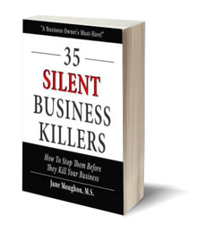 35 Silent Business Killers: How To Stop Them Before They Kill Your Business (PB)