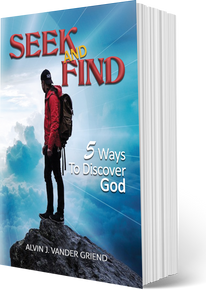 SEEK AND FIND: FIVE WAYS TO DISCOVER GOD (A 38-page PB)