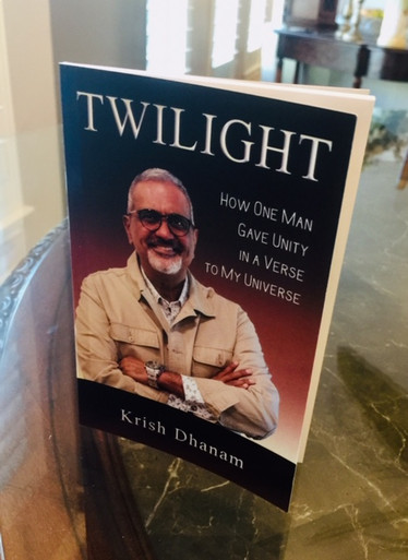 TWIGHTLIGHT, by Krish Dhanam is his telling the story of how the late great motivational speaker Zig Ziglar impacted his life and showed him how to have hope for every hurt and a start for every scar.