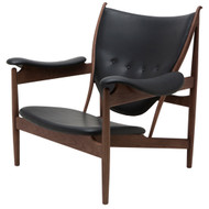 American ash painted walnut black leather Clearance Furniture