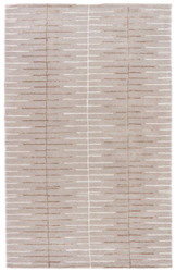 """3'6"""" x 5'6"""" Area Rug Rectangle Gray White Blue Dialed-In BL89 Handmade Hand-Tufted"""