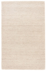 5' x 8' Area Rug Rectangle Taupe Elements EL03 Handmade Hand-Loomed Contemporary