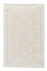 9' x 12' Area Rug Rectangle Beige Blue Fables Regal FB07 Machine Made Power-Loomed