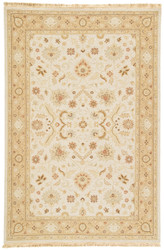 9' x 12' Area Rug Rectangle Light Blue Beige Jaimak Kolos JM07 Handmade Hand-Knotted