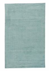 2' x 3' Area Rug Rectangle Aqua Teal Konstrukt Kelle KT06 Handmade Hand-Loomed