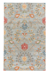"9'6"" x 13'6"" Area Rug Rectangle Light Green Multicolor Passages Amara PG01 Handmade"