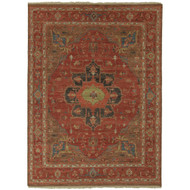8' x 10' Area Rug Rectangle Red Brown Uptown By Artemis York UT02 Handmade Hand-Knotted