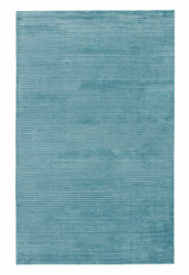 2' x 3' Area Rug Rectangle Aqua Basis BI11 Handmade Hand-Loomed Contemporary