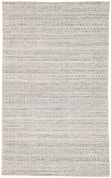 5' x 8' Area Rug Rectangle Navy Cream Prism PRM01 Handmade Dhurrie Contemporary