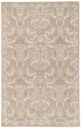 2' x 3' Area Rug Rectangle Gray Poeme Corsica PM121 Handmade Hand-Tufted Traditional