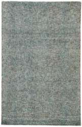 8' x 10' Area Rug Rectangle Turquoise Tan Britta Plus BRP02 Handmade Hand-Tufted