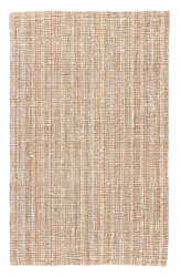 9' x 12' Area Rug Rectangle Beige White Naturals Lucia Marvy NAL01 Handmade Hand-Woven