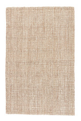10' x 14' Area Rug Rectangle White Tan Naturals Lucia Mayen NAL02 Handmade Hand-Woven