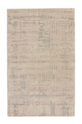 """9'6"""" x 13'6"""" Area Rug Rectangle Beige Silver Clayton Pals CLN03 Handmade Hand-Tufted"""