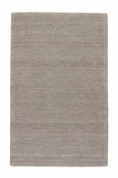 9' x 12' Area Rug Rectangle Gray Elements EL01 Handmade Hand-Loomed Contemporary