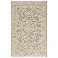 8' x 11' Area Rug Rectangle Cream Gray Shakur by Nikki Chu Mutulu SNC01 Handmade