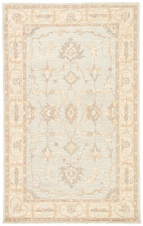 2' x 3' Area Rug Rectangle Beige Gray Reverie Berko REV07 Handmade Hand-Tufted