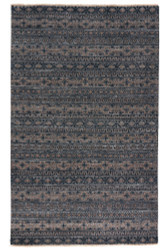 2' x 3' Area Rug Rectangle Gray Tan Verna Desta VEN08 Handmade Hand-Knotted Global