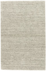 9' x 12' Area Rug Rectangle Gray Taupe Elements EL06 Handmade Hand-Loomed Contemporary