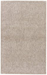 2' x 3' Area Rug Rectangle Taupe Light Gray Britta Plus BRP06 Handmade Hand-Tufted