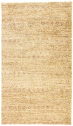 2' x 3' Area Rug Rectangle Beige Light Purple Croix Chenay CRX02 Handmade Hand-Knotted