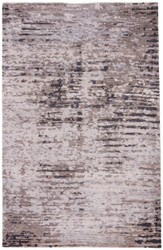 5' x 8' Area Rug Rectangle Gray Black Micah Imperial MCH01 Handmade Hand-Knotted Modern