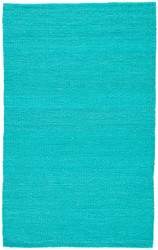 8' x 10' Area Rug Rectangle Turquoise Naturals Tobago Hutton NAT28 Handmade Hand-Loomed