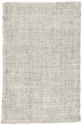 10' x 14' Area Rug Rectangle White Gray Naturals Tobago Almand NAT30 Handmade