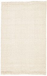 8' x 10' Area Rug Rectangle White Naturals Tobago Tracie NAT32 Handmade Hand-Loomed
