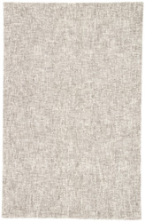 5' x 8' Area Rug Rectangle Ivory Light Gray Britta Plus BRP08 Handmade Hand-Tufted