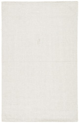 8' x 10' Area Rug Rectangle White Silvermine Snowberry SIV02 Handmade Hand-Woven