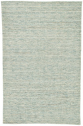 2' x 3' Area Rug Rectangle Blue Beige Sovey Hird SOV02 Handmade Hand-Loomed Contemporary